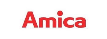 amica - logo, okap, kuchenka, lodówka, zamrażarka, chłodziarka, mikrafala, płyta gazowa, płyta indukcyjna
