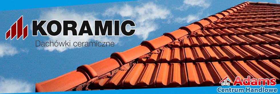 koramic banner baner dachówka adams dach dachówki