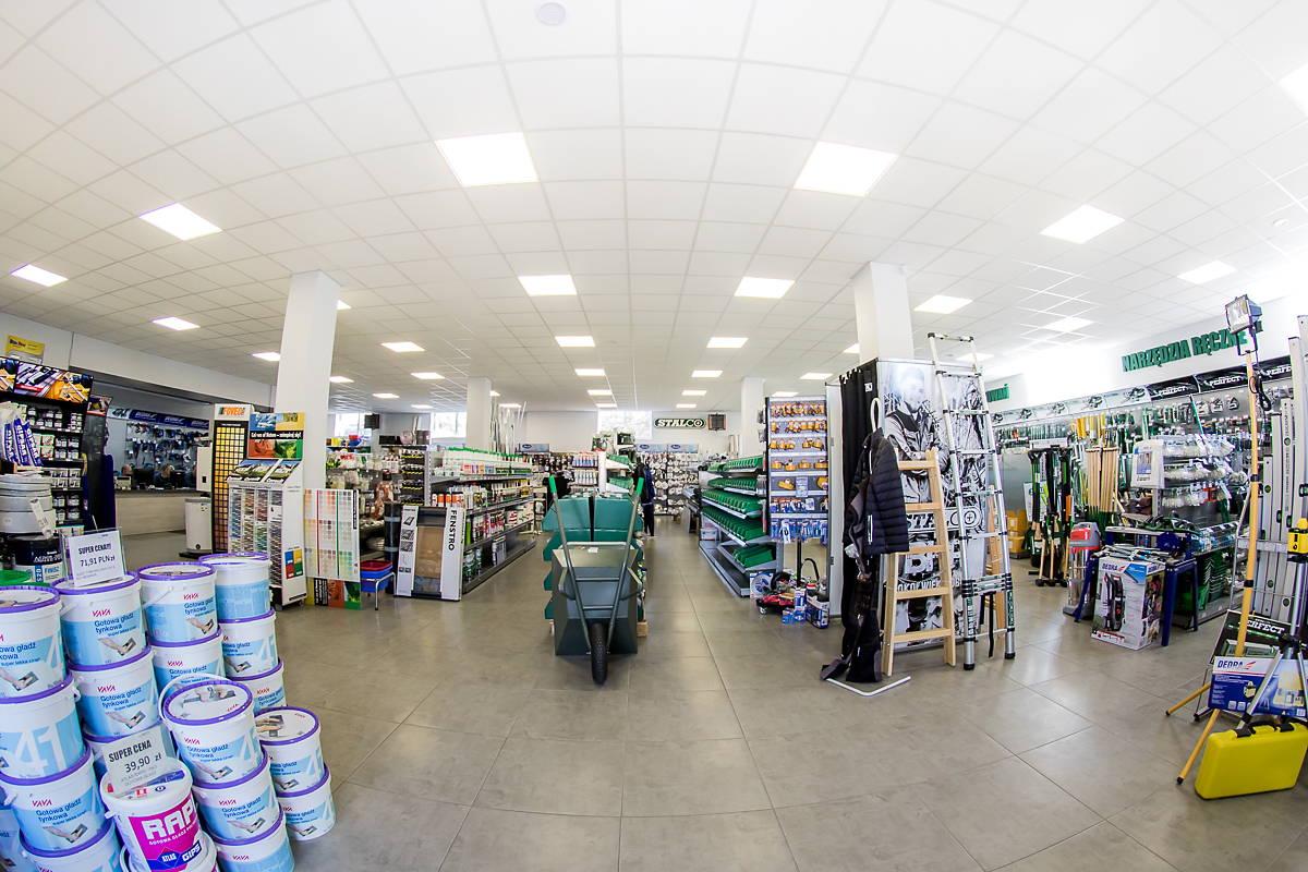 Centrum Handlowe Adams Żary, Materiały Budowlane, Odzież BHP, Obuwie BH{