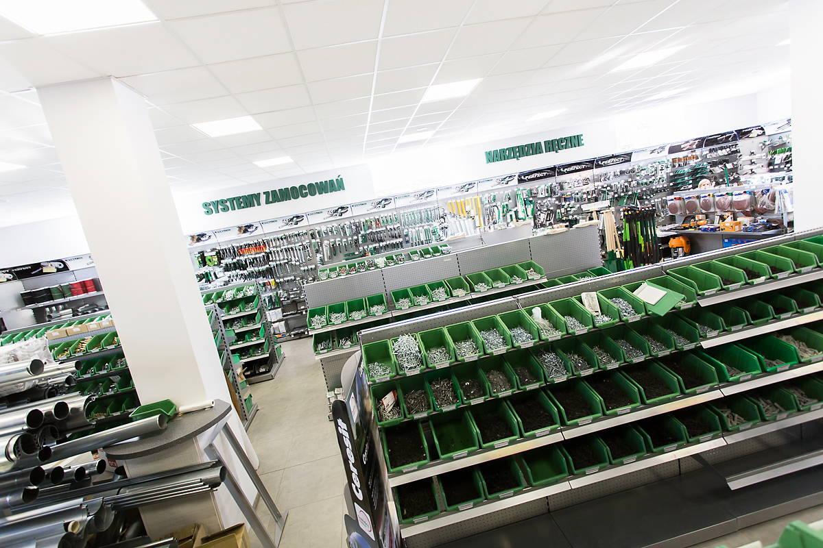 Centrum Handlowe Adams, Centrum Budowlane Żary, systemy zamocowań, narzędzia elektryczne, narzędzia ręczne
