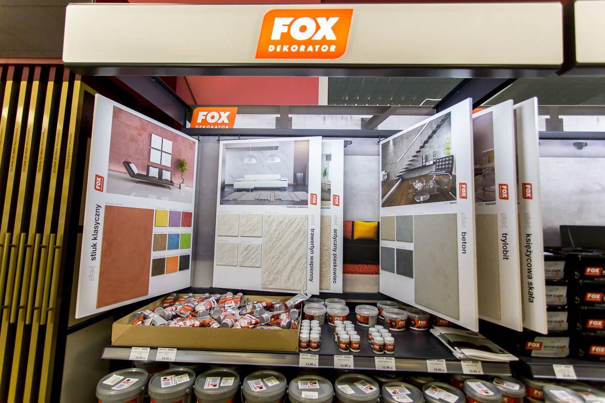 Fox Dekoracje Fox Efekty Dekoracyjne żary Farby Fox