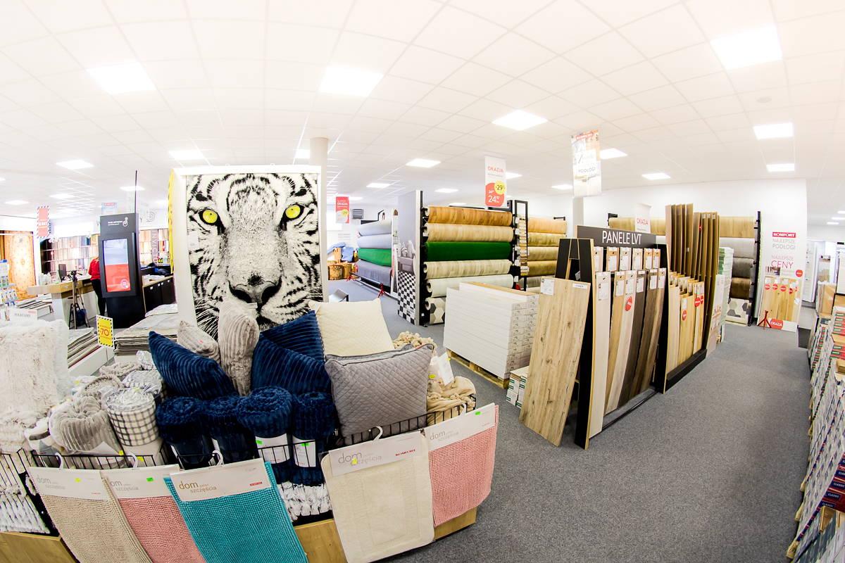 Komfort Żary, Panele, Podłogi, Dywany, Wykładziny, Wycieraczki, Preparat do podłóg,