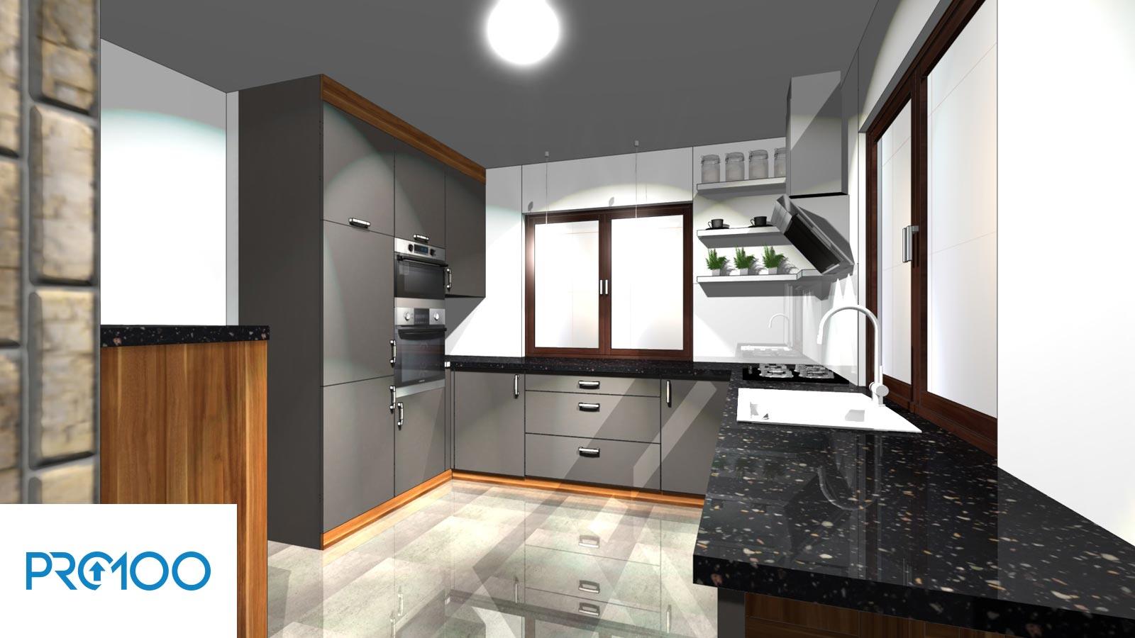 Kuchnie Komputerowe Projekty 3d Adams żary Meble