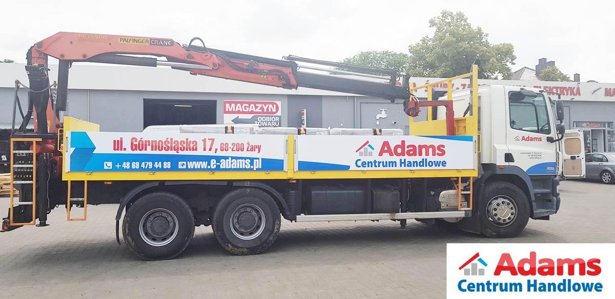 Transport HDS Adams Żary dowóz dostawa lubuskie gabaryty