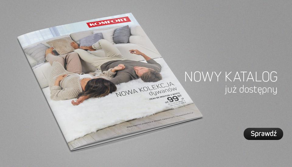 Komfort Żary, Nowy Katalog komfort, Dywany 2018, Kolekcja Organic Home, Dywany Żary, Wykładziny Żary, gazetka