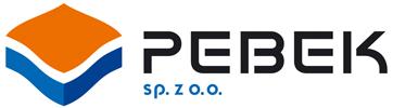 Pebek Żary, logo, szlachetna kostka brukowa, elewacje, elementy architektury, budownictwo drogowe, beton towarowy, Żary