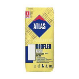 klej elastyczny biały, klej elastyczny atlas geoflex, klej geoflex bialy, kleje elastyczne białe, klej żelowy atlas żary, Adams Żary