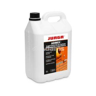 plastyfikator w płynie admix iquid 5l, Jurga plastyfikator, Plastyfikator do zapraw murarskich i tynkarskich