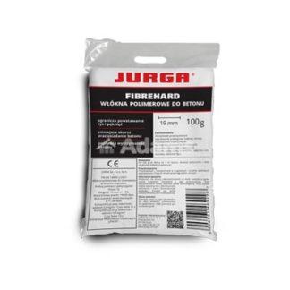 włókna do zapraw fibrehard jurga 0,6kg, Włókna polipropylenowe, dodatek zbrojąco-wzmacniający, włókna do betonu