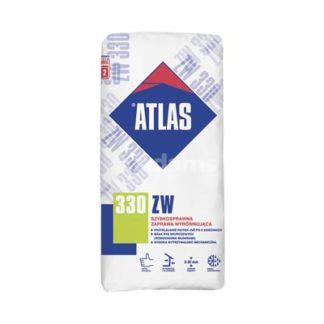 zaprawa wyrównawcza Żary, atlas zw 330 25kg, Atlas ZW330 szybkosprawna zaprawa wyrównująca, plastyczna zaprawa