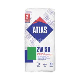 zaprawa wyrównawcza Żary, atlas zw 50 25kg, Atlas ZW50 uniwersalna zaprawa wyrównująca, plastyczna zaprawa